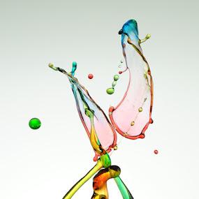 Tranformation by Salahudin Damar Jaya - Abstract Water Drops & Splashes ( droplet, hsp )