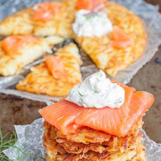 Rosti with Smoked Salmon