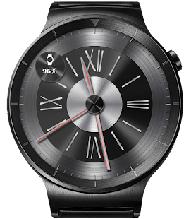 Brushed Metal HD Watch Face- screenshot thumbnail