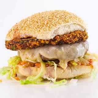 Rachael's Portabella Parm Burgers.