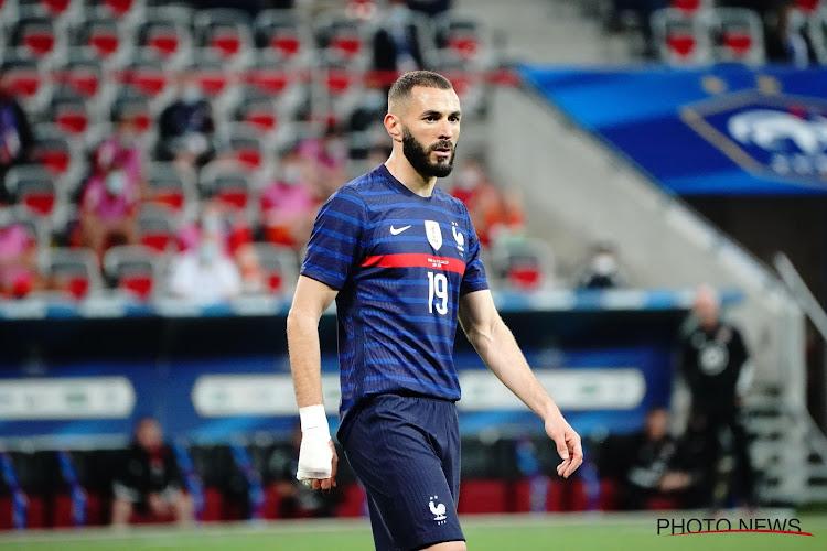 Karim Benzema sera bien présent contre l'Allemagne