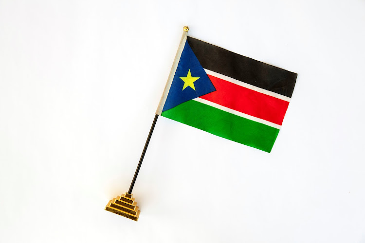 South Sudanese flag. Picture: REUTERS/ADRIANE OHANESIAN