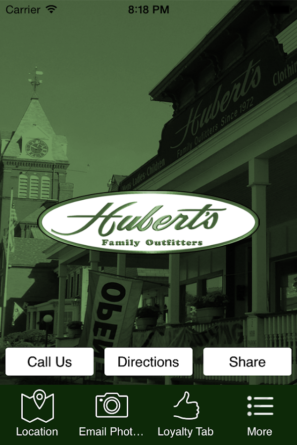 Hubert's Family Outfitters- screenshot