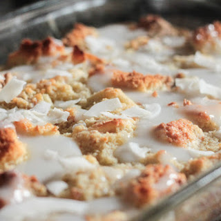 Leftover Cake Bread Pudding