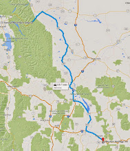 Photo: June 19: Leaving Glacier and driving South through Montana and toward Yellowstone. Stop in Bozeman for the night.