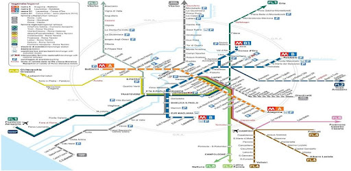 Rome Italy Subway Map.Rome Metro Map Route Planner Apps On Google Play