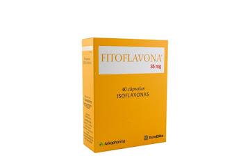 Solo Online Fitoflavona 35 Mg   Capsula x 40 Und