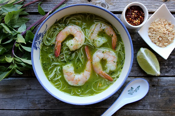 Thai Basil Pesto Soup