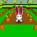 Rabbit 3D icon