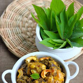 Gongura Chicken Restaurant Style - Ambadi Chicken Fry Recipe