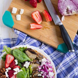 Strawberry Chicken Salad Wrap
