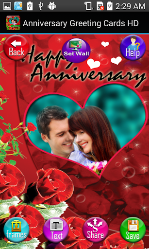 Anniversary Greeting Cards HD