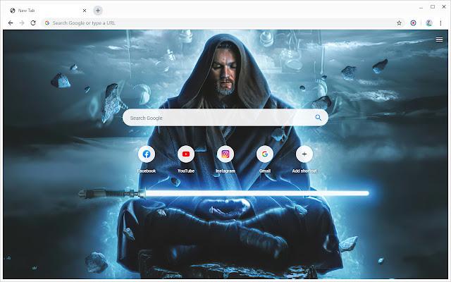 Obi Wan Kenobi Star Wars Wallpapers New Tab