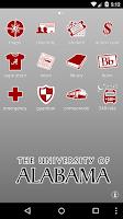 Screenshot of University of Alabama