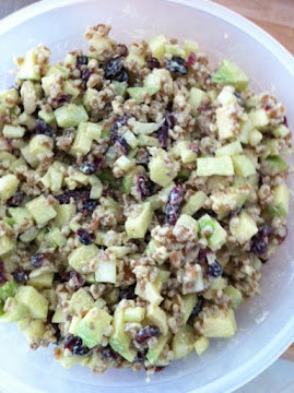 Wheat Berry Waldorf Salad Recipe