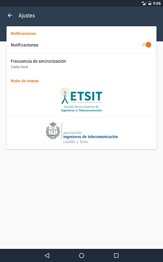 ETSIT Noticias- screenshot