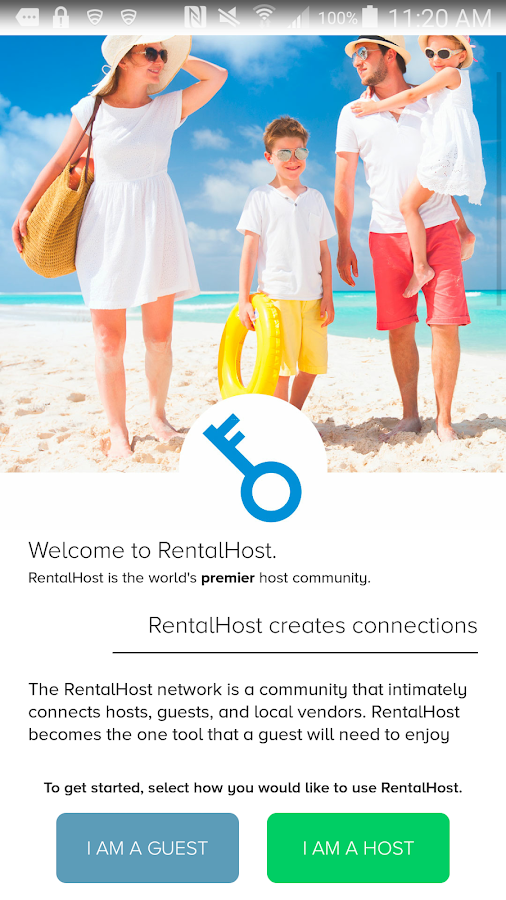 RentalHost- screenshot