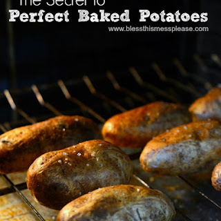 How To Bake A Potato – Ditch The Foil