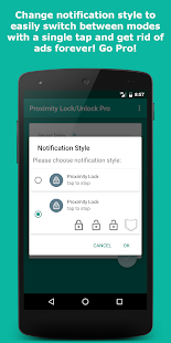 Proximity Lock/Unlock Pro Screenshot