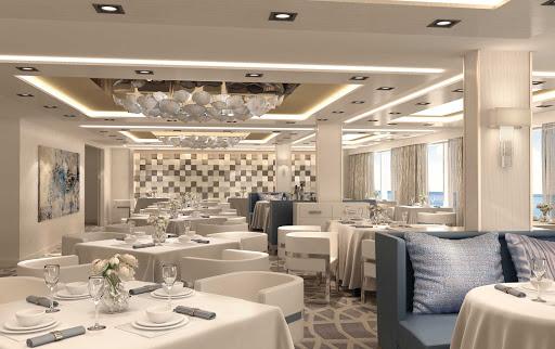 norwegian-bliss-Haven-Restaurant-rendering.jpg - A digital rendering of the Haven Restaurant on Norwegian Bliss.