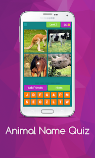 Download free Animal Name Quiz for PC on Windows and Mac apk screenshot 3