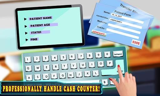 Hospital Cash Register Cashier Games For Girls  screenshots 4
