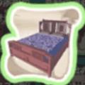 春節のベッドの設計図