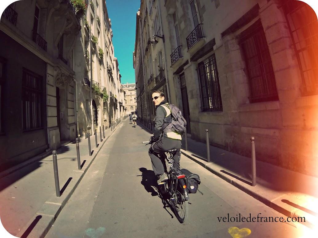 Balade à vélo accompagnée avec veloiledefrance.com