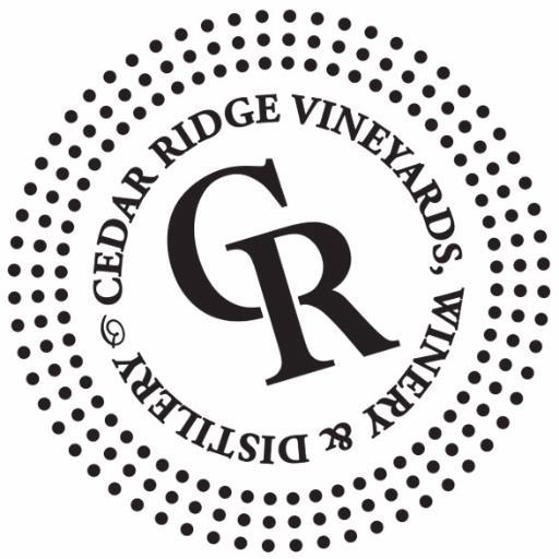 Logo for Cedar Ridge Iowa Bourbon