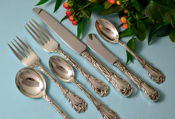 Photo: Kirk Quadrille Flatware — http://www.RareSterling.com  Sterling Silver Flatware and Hollowware  RareSterling.com Antiques — Buying Sterling Silver from anyone, anywhere in the USA. Trust in our Experience!  Call Mike Coone, the Rare Sterling Silver Specialist, today at 310.435.1056 or visit our website athttp://www.RareSterling.com
