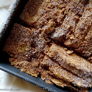 Chocolate Chili French Toast Bake