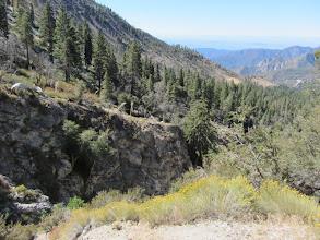 Photo: View south at Snowslide Canyon