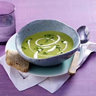 Creamy Pea Soup.