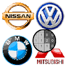 Cars Logo Color by Number: Pixel Art Coloring Book icon