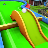Mini Golf Multiplayer Game - Cartoon Forest