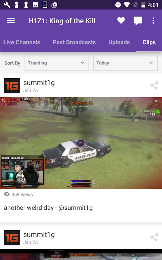 Twitch- screenshot
