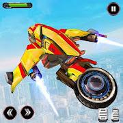 Flying Robot Bike Transform - Robot Bike games