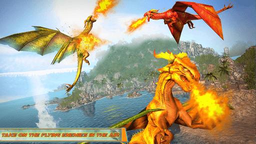 Flying Dragon Robot Car - Robot Transforming Games 2.5 screenshots 8