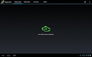 Screenshot of OBDLink (OBD car diagnostics)