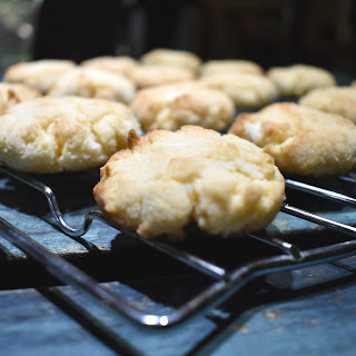 Keto Coconut Cream Cheese Cookies.