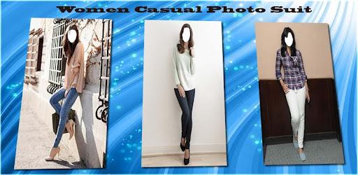 <b>Women</b> Casual Photo Suit - <b>women fashion</b> suit photo