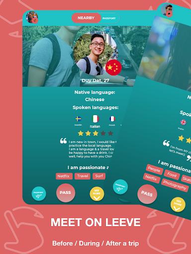 Match - Languages - Meetings - Friends: Leeve 3.4.0 screenshots 7