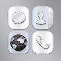 Titanium Atom Iconpack icon