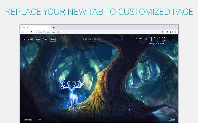 Fantasy Animals Backgrounds HD Custom New Tab