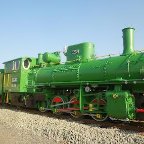 by Bojan Dobrovodski - Transportation Trains ( steam old locomotiv slavonski brod đuro đaković )