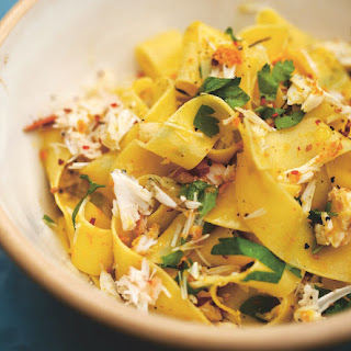 Crab Pappardelle With Orange Zest