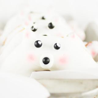 The Cutest Polar Bear Doughnuts.