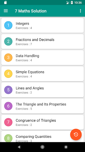 7th Maths NCERT Solution by TRUE NCERT SOLUTIONS (Google Play