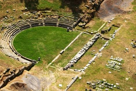 Ancient theatre of Megalopoli