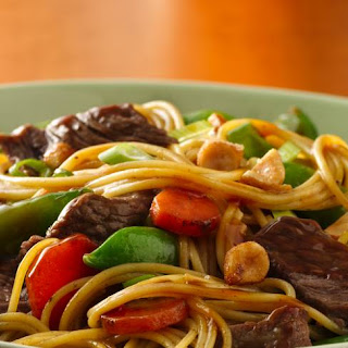 Asian Beef Noodle Bowls Recipe